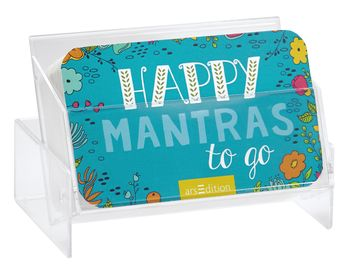 Happy Mantra to go-Box von arsEdition